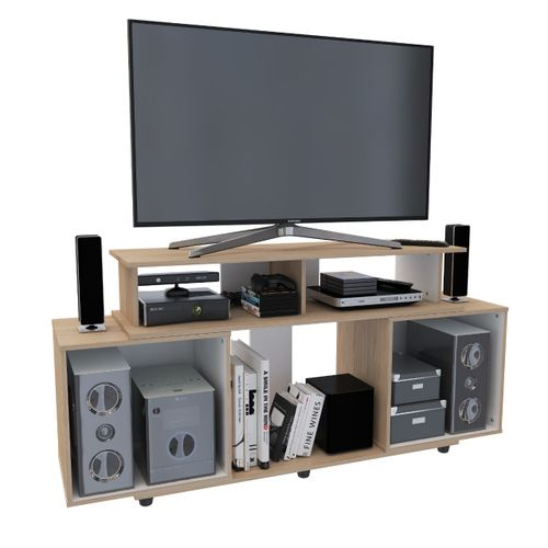 Mesa TV Aura (Ajustable 120 cm o 160 cm)